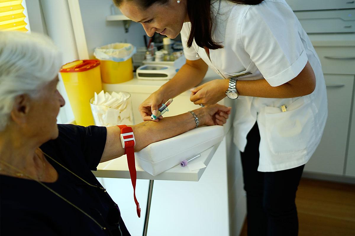 Labor Blutentnahme